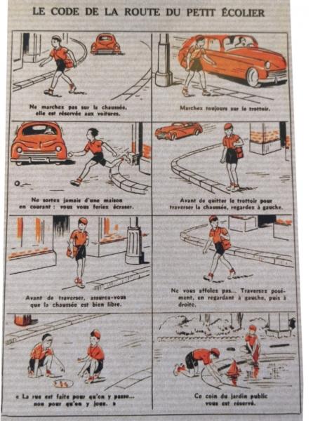 Le code de la Route du Petit Ecolier